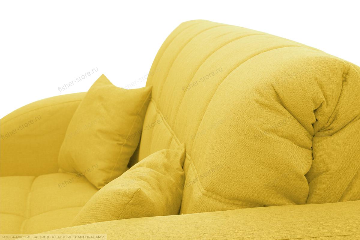 Прямой диван Ява-2 Dream Yellow Подушки
