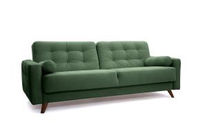 Прямой диван Милано Amigo Green Вид по диагонали