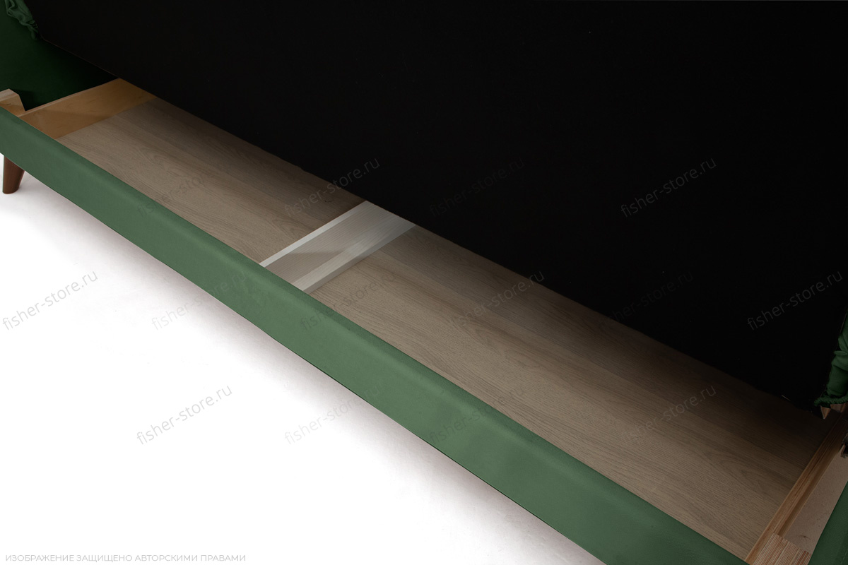 Прямой диван Милано Amigo Green Ящик для белья