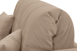 Двуспальный диван Ява-3 Amigo Latte Текстура ткани