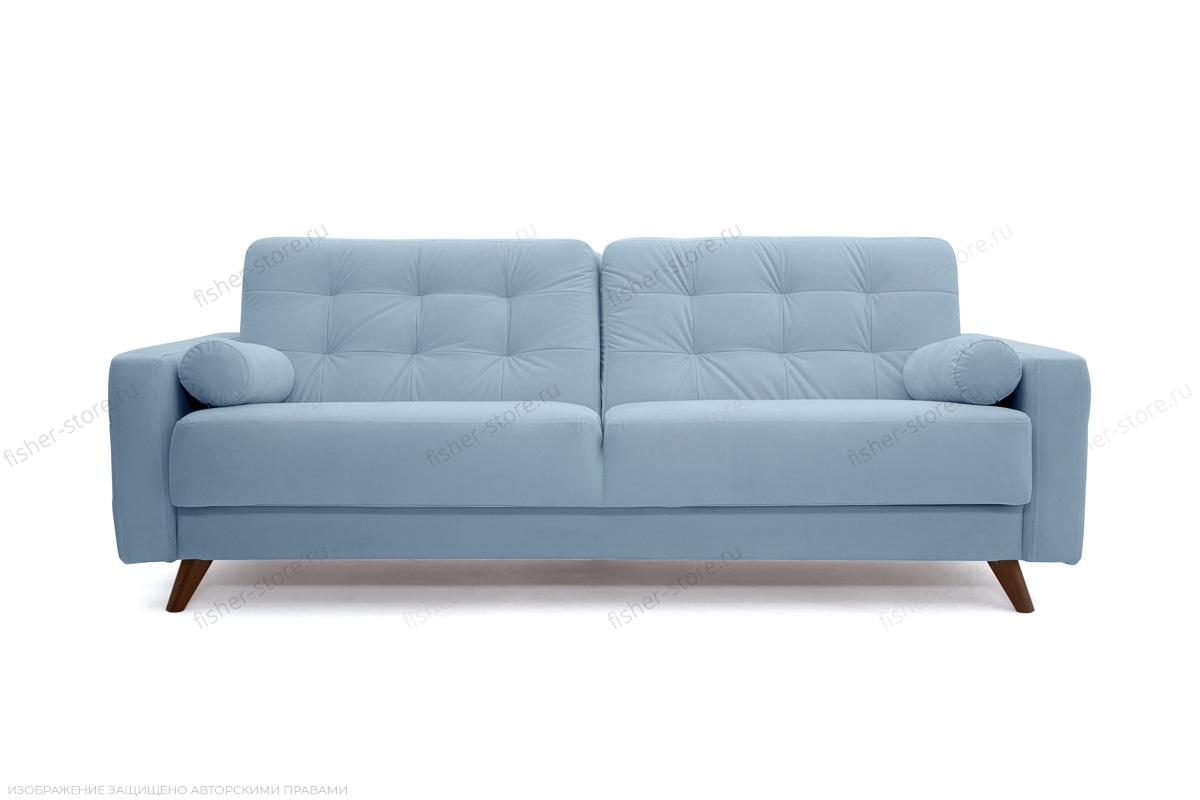 Прямой диван Милано Amigo Blue Вид спереди