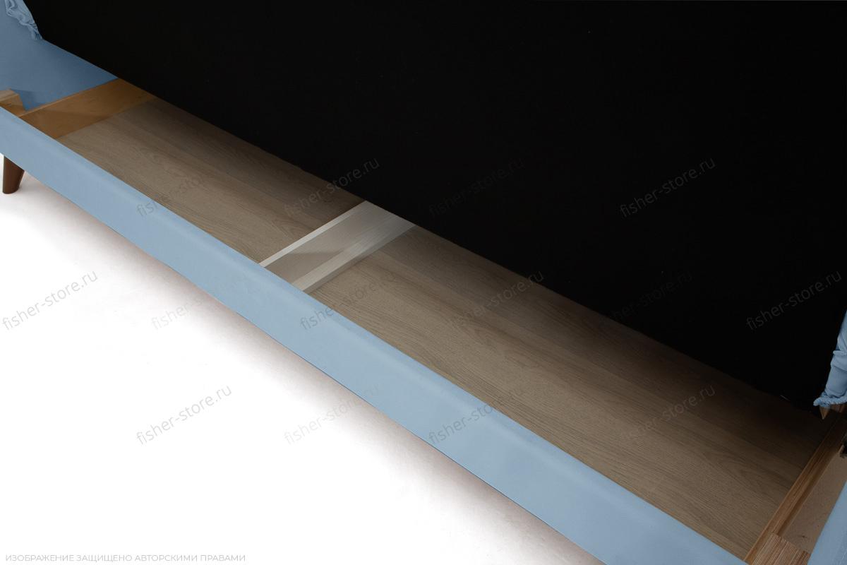 Прямой диван Милано Amigo Blue Ящик для белья