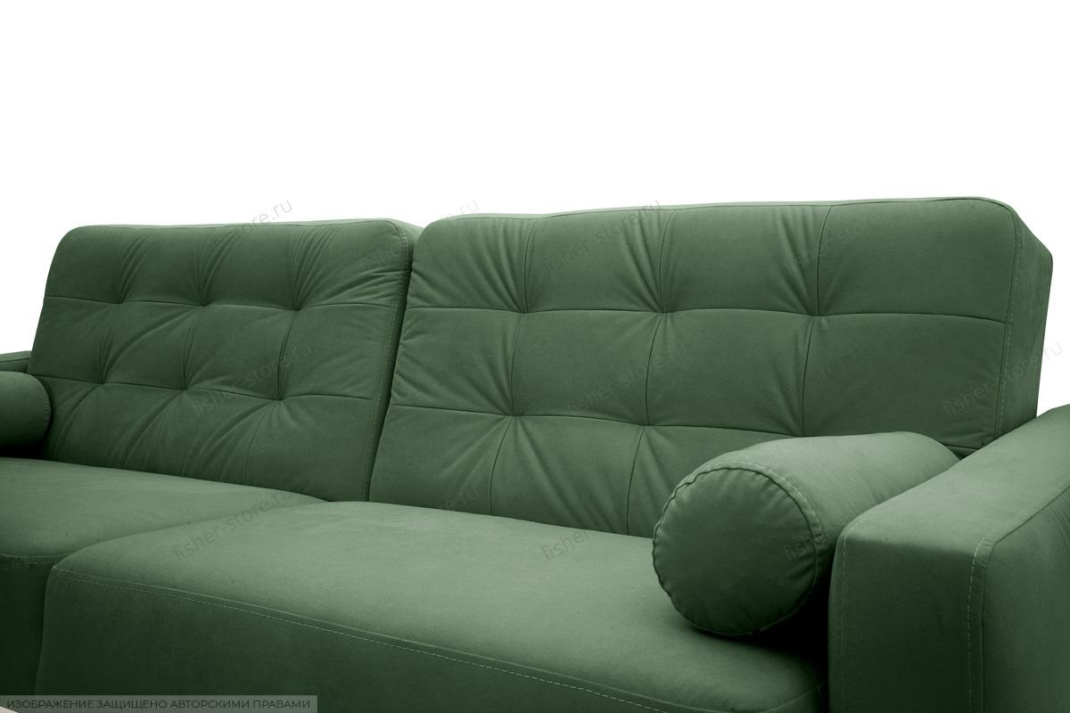 Прямой диван Милано Amigo Green Подушки
