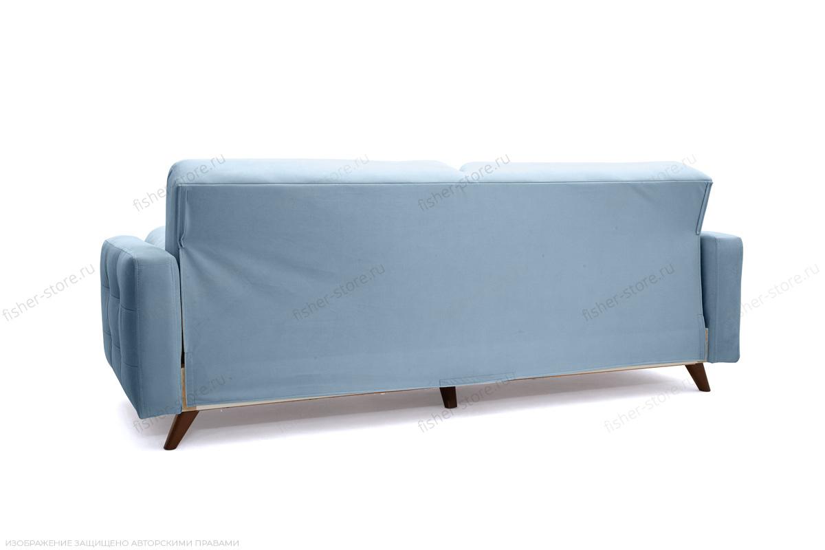 Прямой диван Милано Amigo Blue Вид сзади