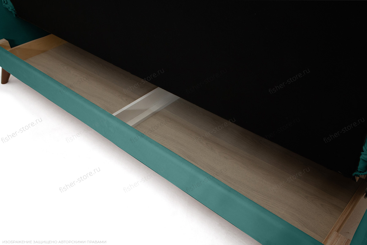 Прямой диван Милано Amigo Lagoon Ящик для белья