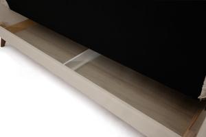 Прямой диван Милано Amigo Cream Ящик для белья