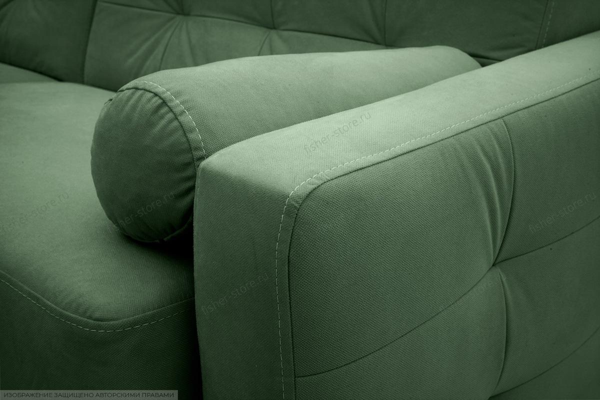 Прямой диван Милано Amigo Green Текстура ткани