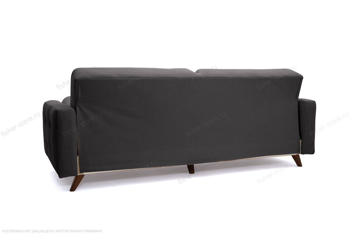 Прямой диван Милано Amigo Grafit Вид сзади