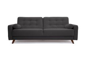 Прямой диван Милано Amigo Grafit Вид спереди