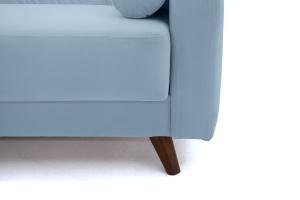 Прямой диван Милано Amigo Blue Ножки