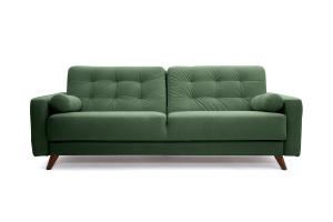 Прямой диван Милано Amigo Green Вид спереди