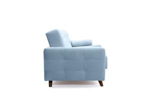 Прямой диван Милано Amigo Blue Вид сбоку