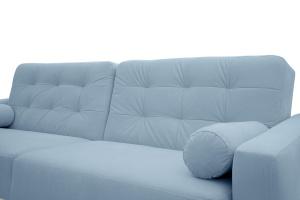 Прямой диван Милано Amigo Blue Текстура ткани
