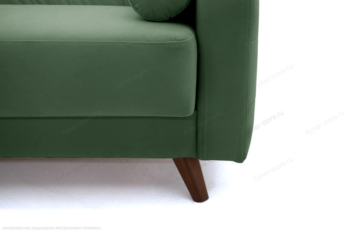 Прямой диван Милано Amigo Green Ножки