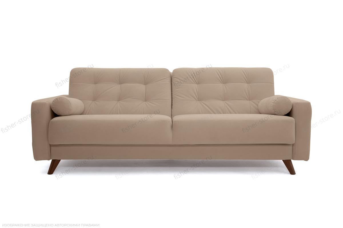 Прямой диван Милано Amigo Latte Вид спереди