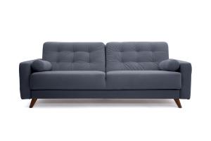 Прямой диван Милано Amigo Navy Вид спереди