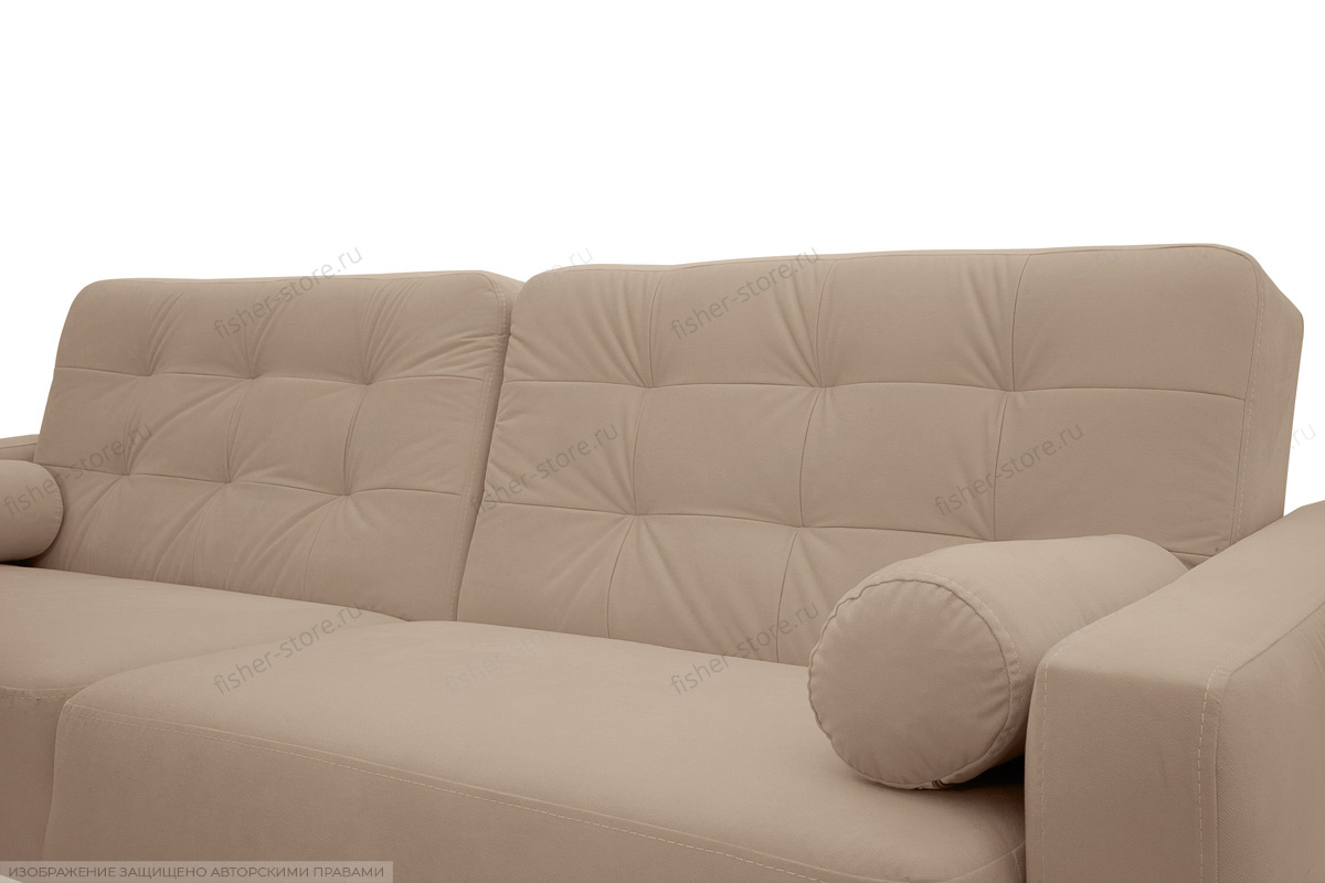 Прямой диван Милано Amigo Latte Подушки