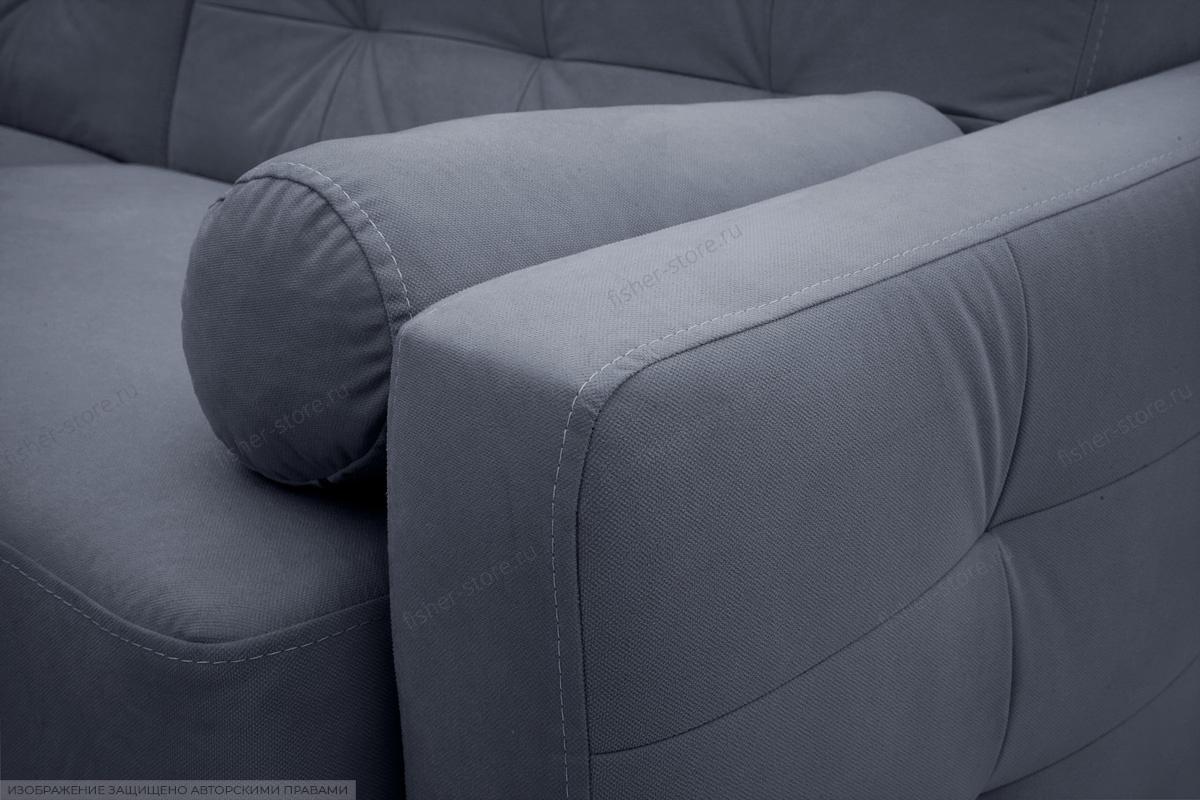 Прямой диван Милано Amigo Navy Подлокотник