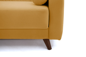 Прямой диван Милано Amigo Yellow Ножки