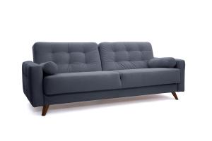 Прямой диван Милано Amigo Navy Вид по диагонали