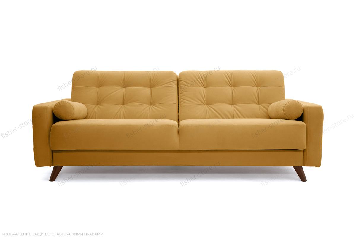 Прямой диван Милано Amigo Yellow Вид спереди