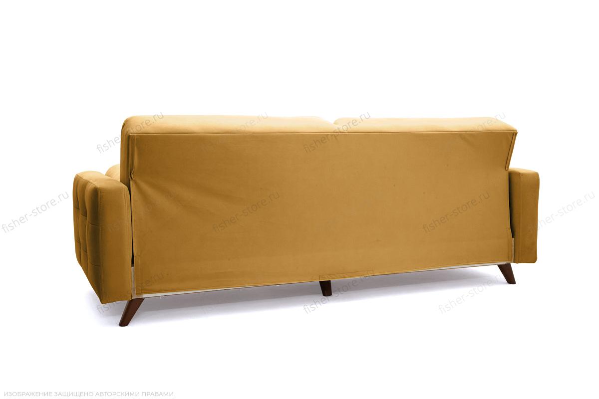 Прямой диван Милано Amigo Yellow Вид сзади