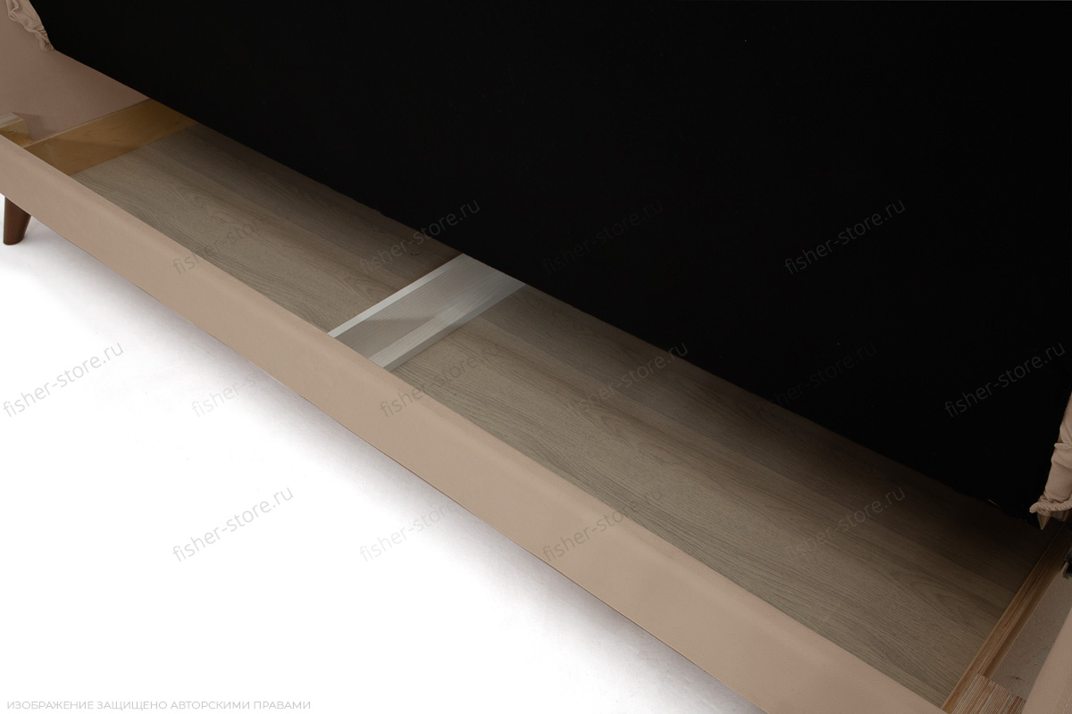 Прямой диван Милано Amigo Latte Ящик для белья