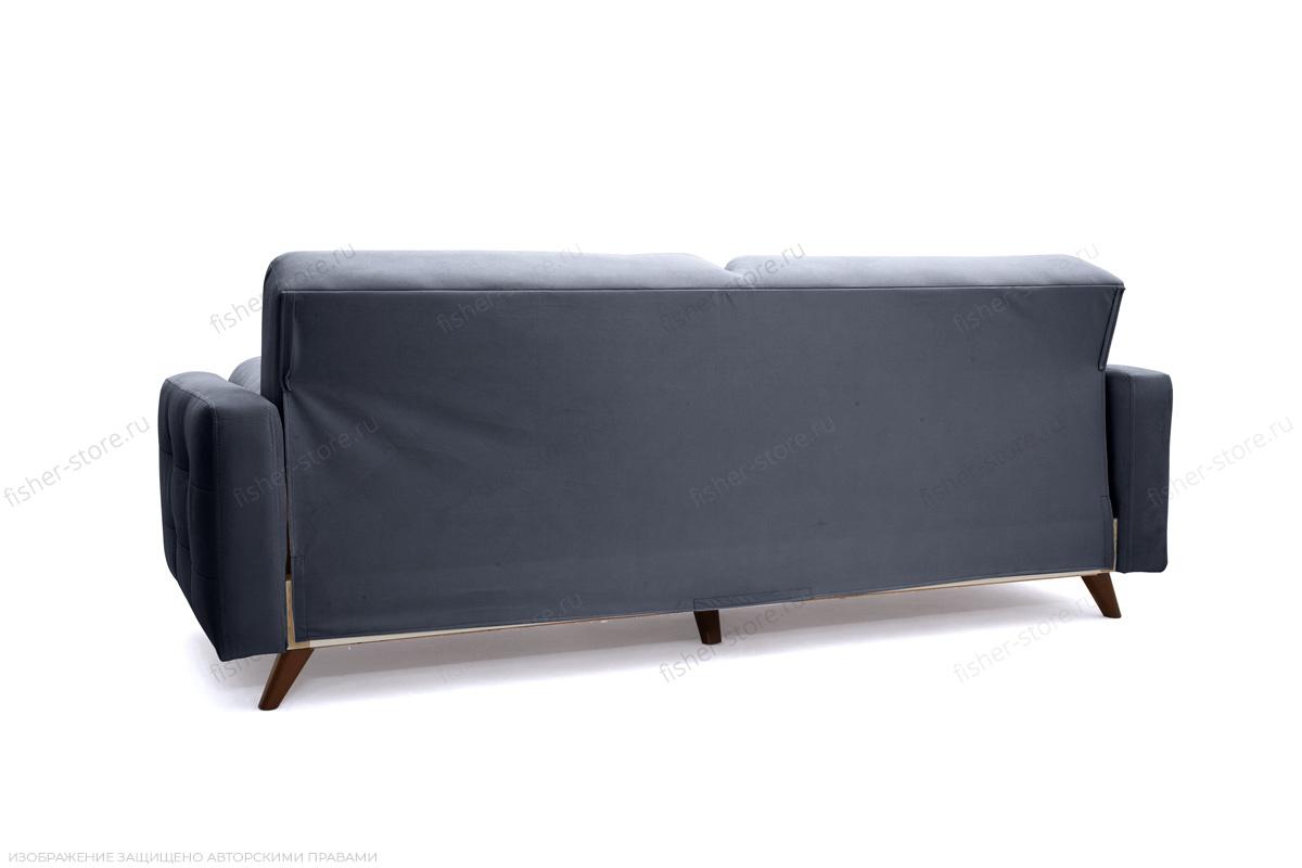 Прямой диван Милано Amigo Navy Вид сзади