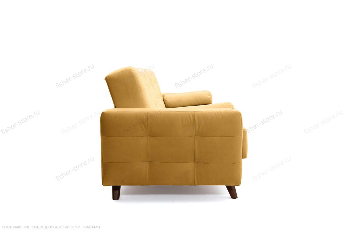 Прямой диван Милано Amigo Yellow Вид сбоку