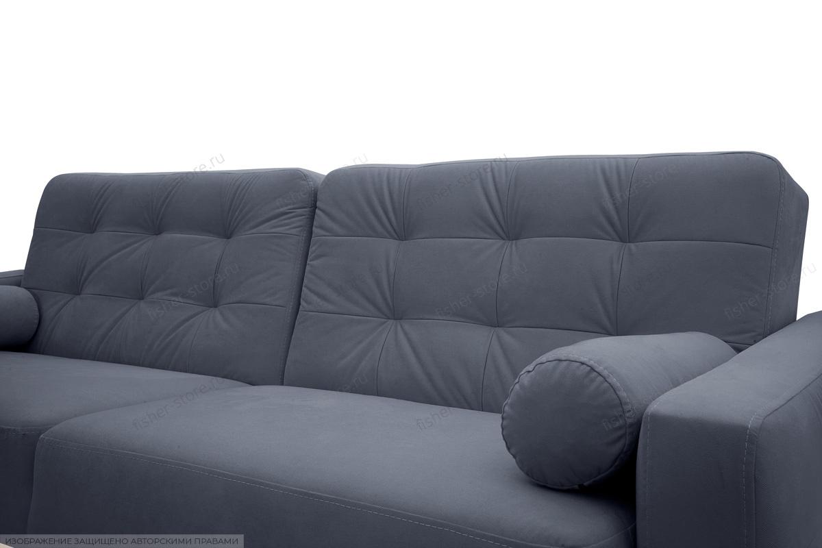 Прямой диван Милано Amigo Navy Подушки
