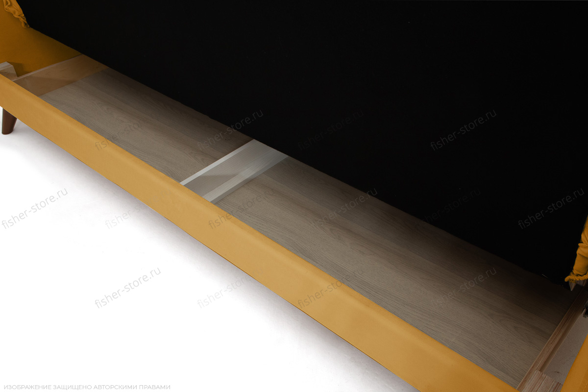 Прямой диван Милано Amigo Yellow Ящик для белья