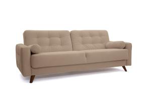 Прямой диван Милано Amigo Latte Вид по диагонали