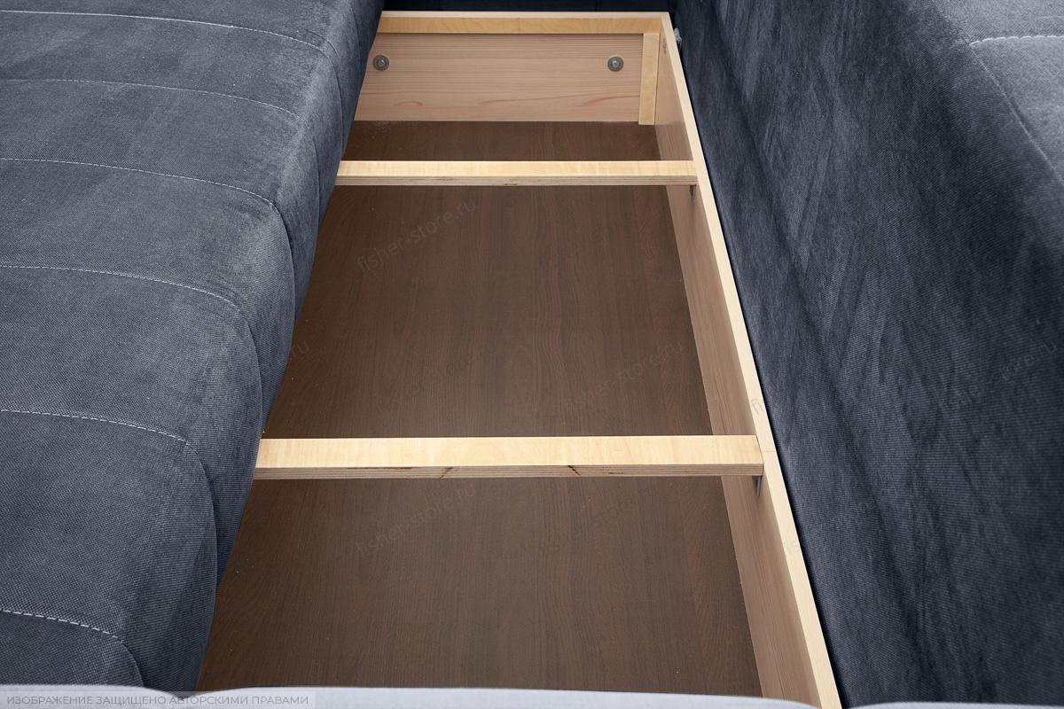 Прямой диван Мадлен Amigo Navy Ящик для белья