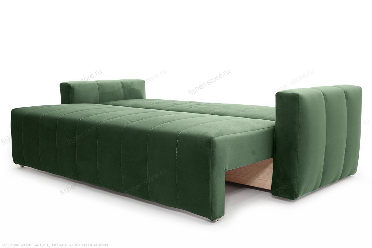 Прямой диван еврокнижка Мадлен Amigo Green Спальное место