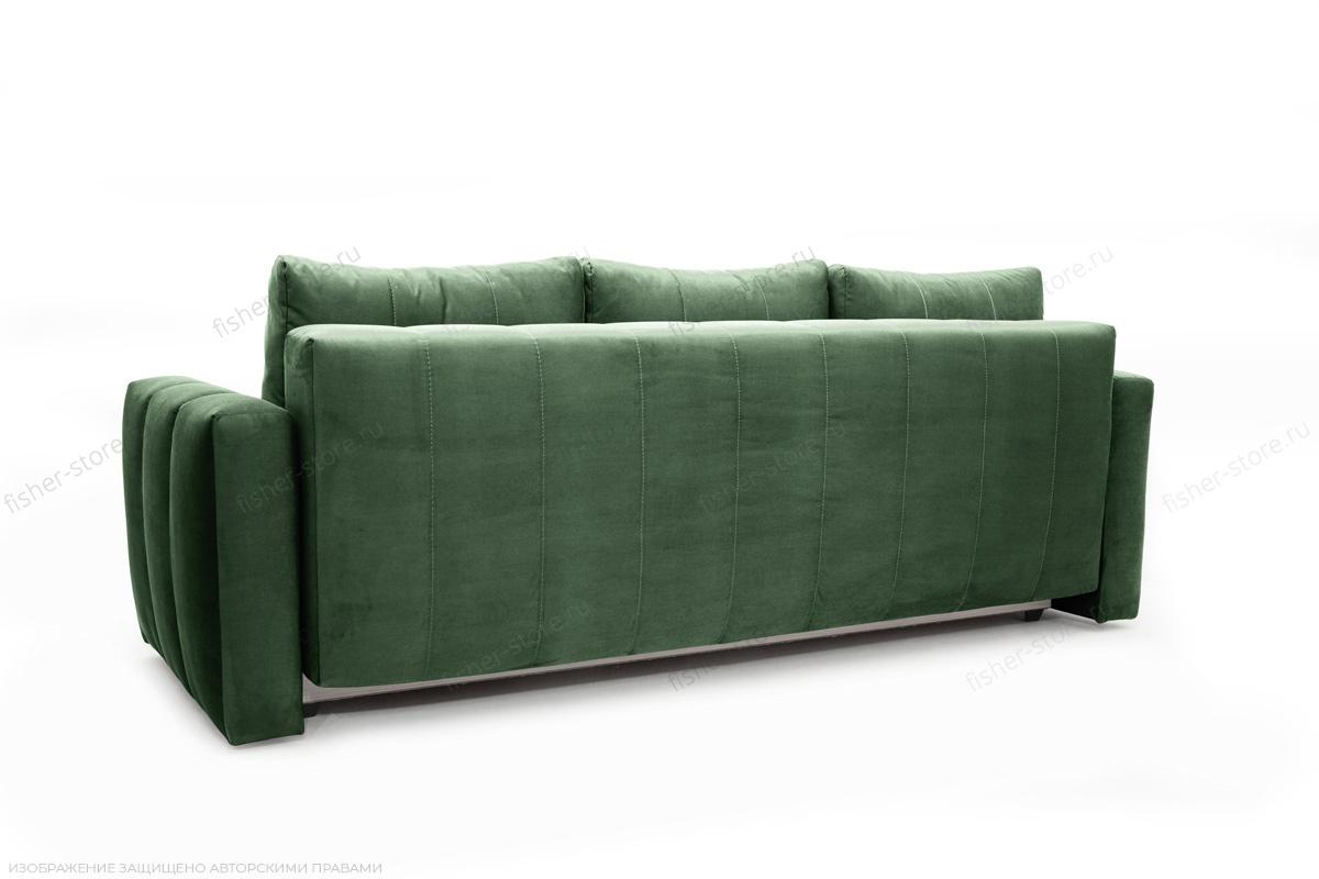Прямой диван еврокнижка Мадлен Amigo Green Вид сзади