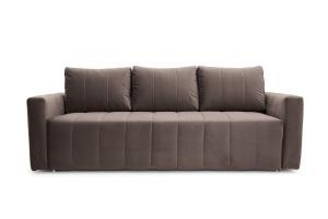 Прямой диван Мадлен Amigo Chocolate Вид спереди