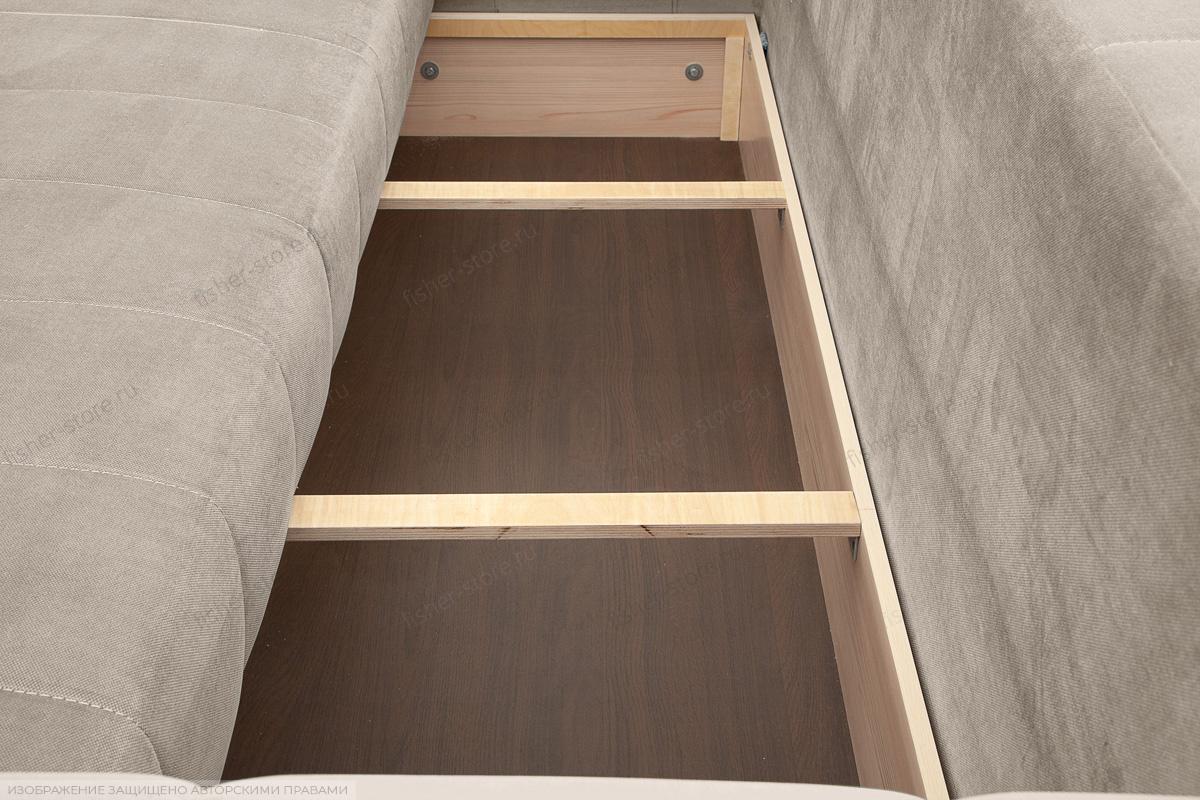 Прямой диван Мадлен Amigo Cream Ящик для белья
