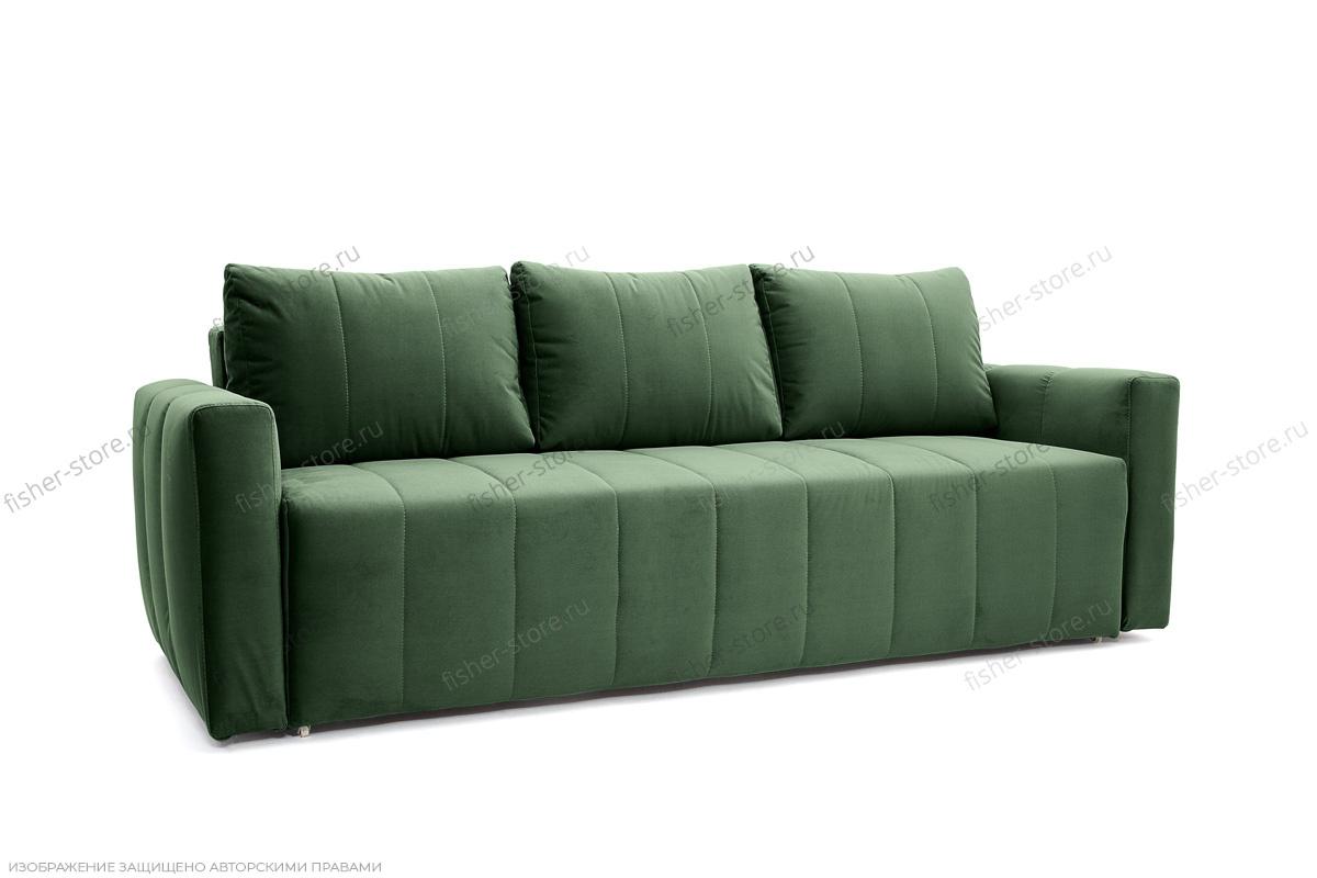 Прямой диван Мадлен Amigo Green Вид по диагонали