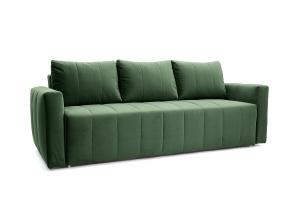 Прямой диван еврокнижка Мадлен Amigo Green Вид по диагонали