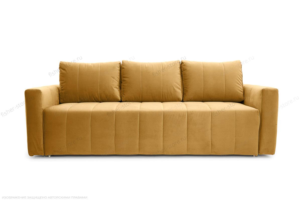 Двуспальный диван Мадлен Amigo Yellow Вид спереди