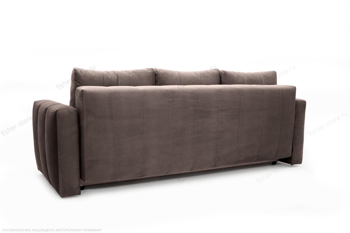 Прямой диван Мадлен Amigo Chocolate Вид сзади