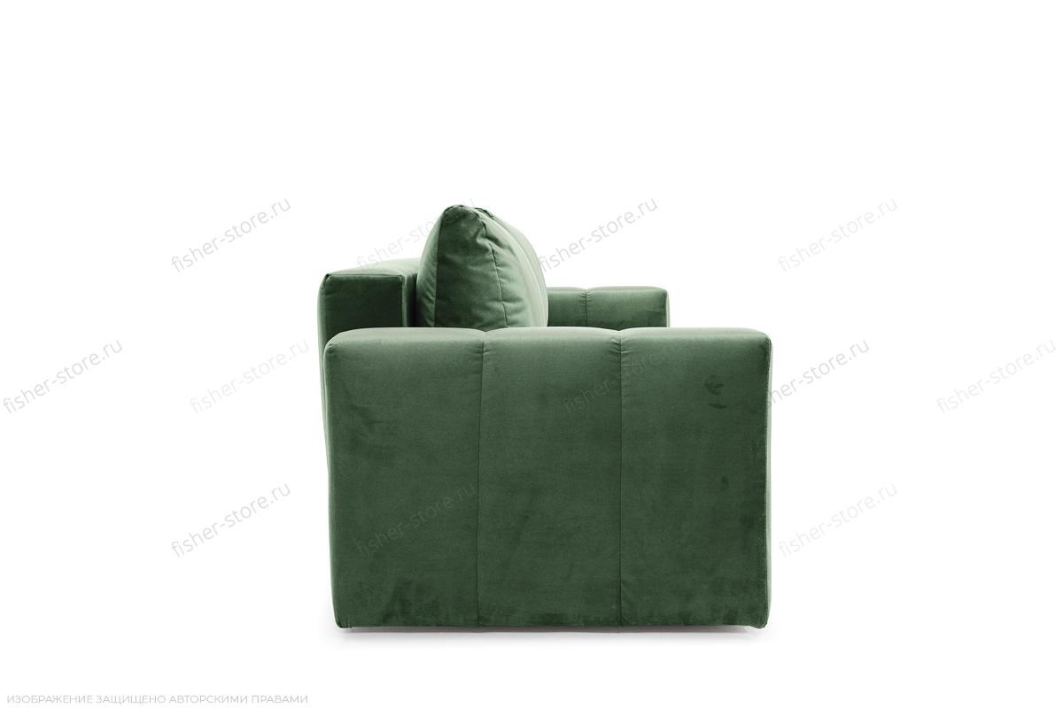 Прямой диван еврокнижка Мадлен Amigo Green Вид сбоку