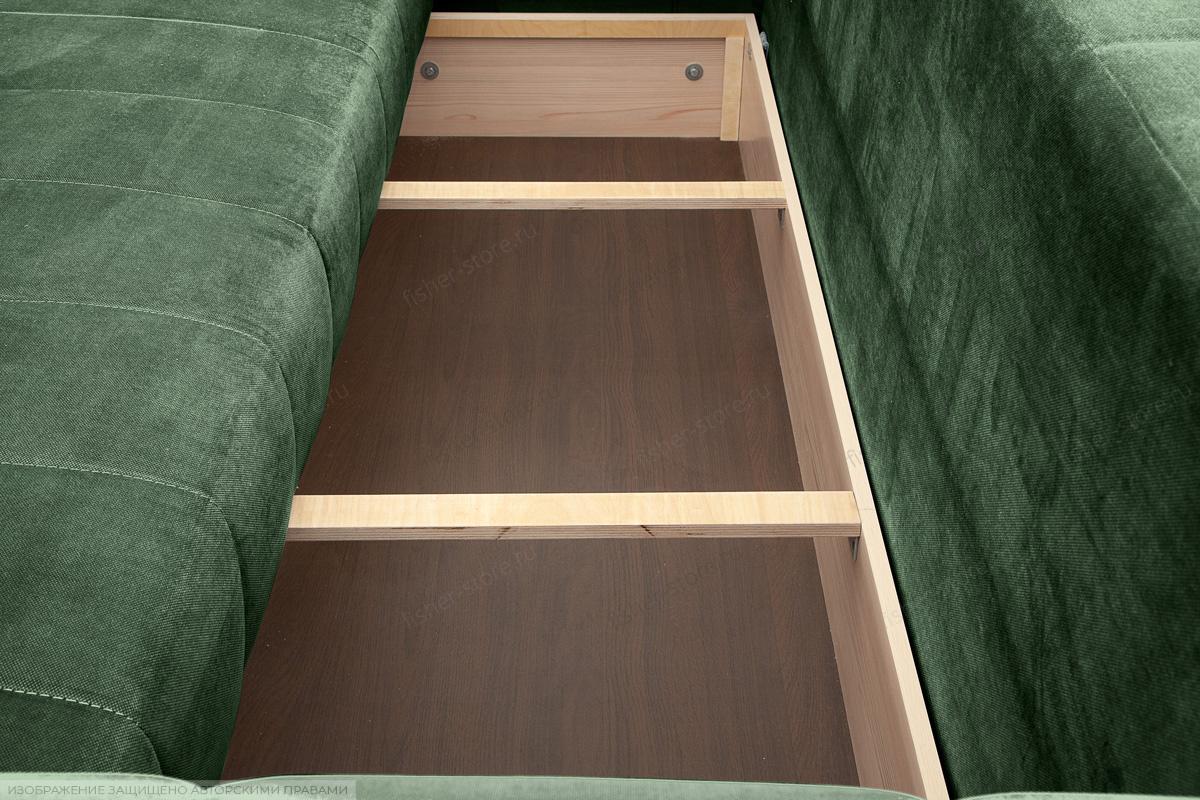 Прямой диван еврокнижка Мадлен Amigo Green Ящик для белья