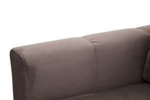Прямой диван Мадлен Amigo Chocolate Подлокотник