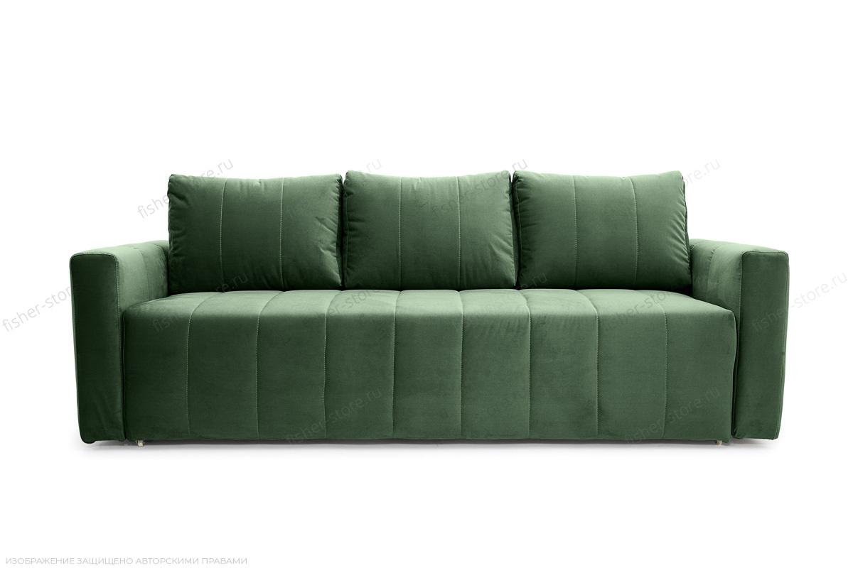Прямой диван еврокнижка Мадлен Amigo Green Вид спереди