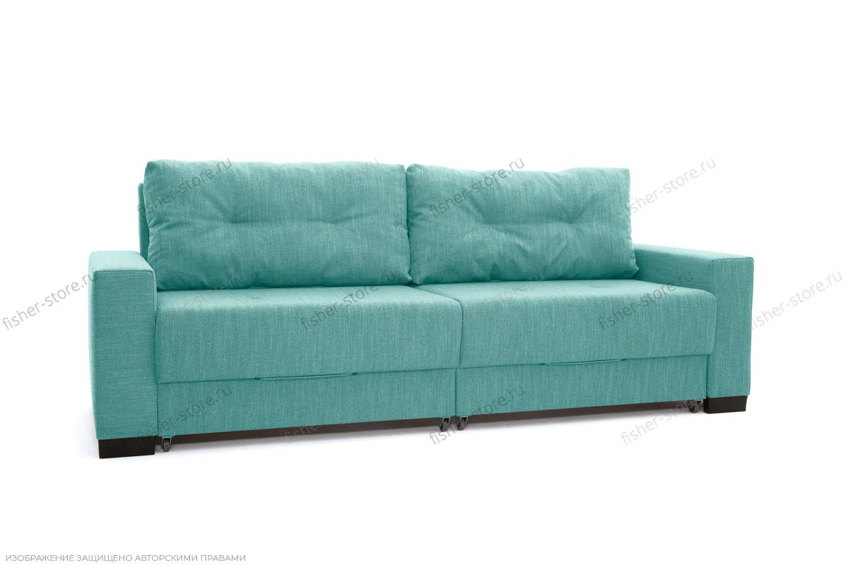 Прямой диван Комфорт Orion Blue Вид по диагонали
