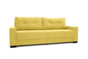 Прямой диван Комфорт Orion Mustard Вид по диагонали