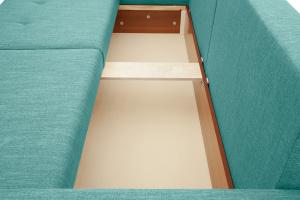 Прямой диван Комфорт Orion Blue Ящик для белья