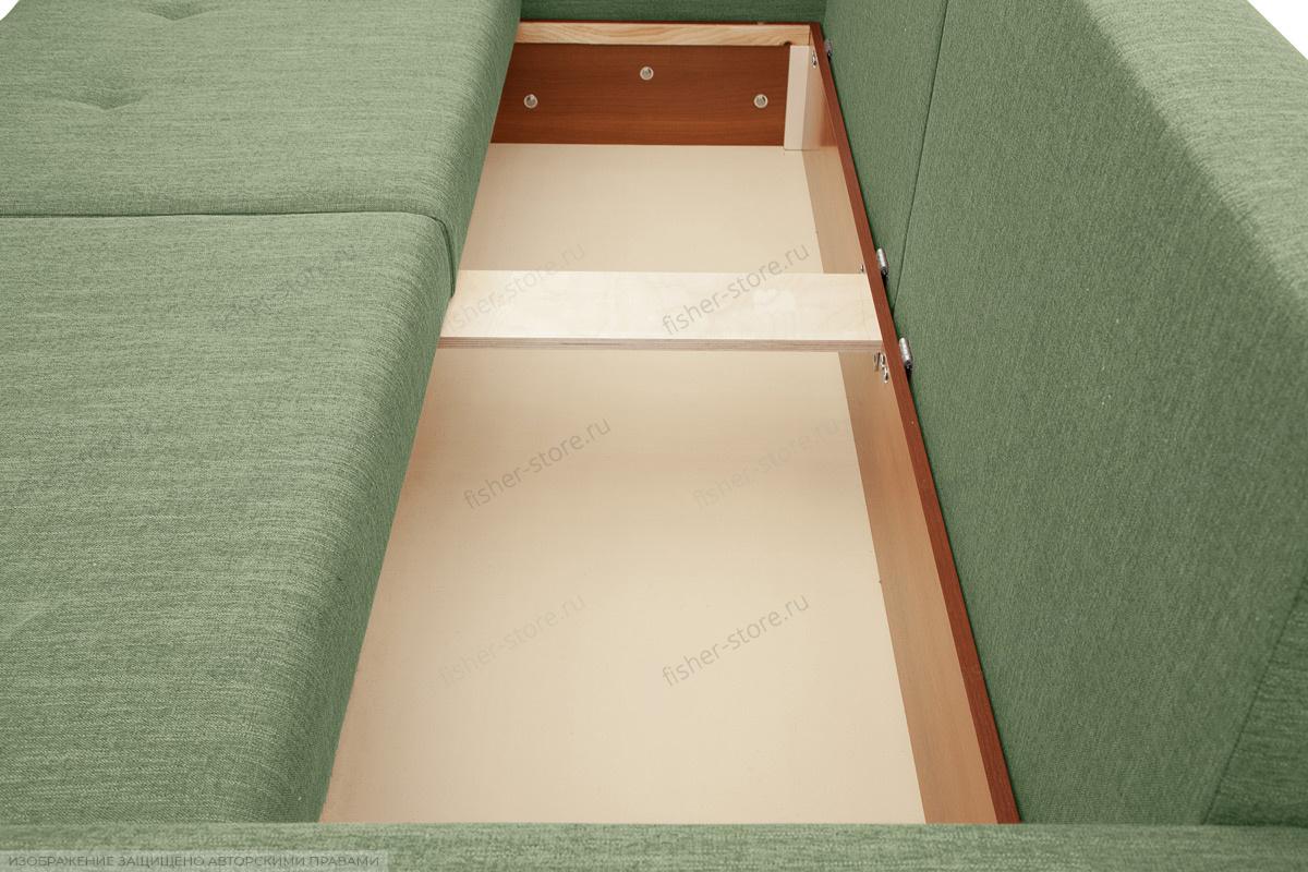 Прямой диван Комфорт Dream Green Ящик для белья