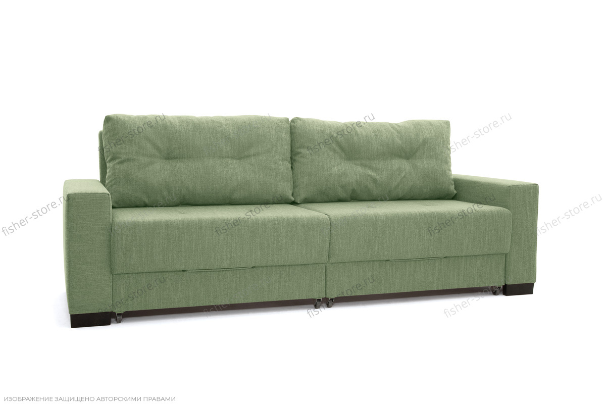 Прямой диван Комфорт Dream Green Вид по диагонали